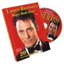 Lance Burton's Magic Made Easy! Volume 1 - DVD