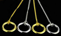 Ring & Chain (Gold/Silver)