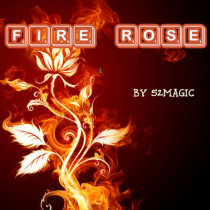 The Fire Rose by 52magic