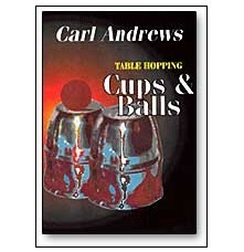Table Hopping Cups and Balls with Carl Andrews (DVD)