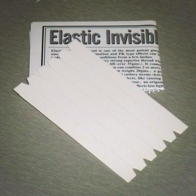 Elastic Invisible Thread Loops