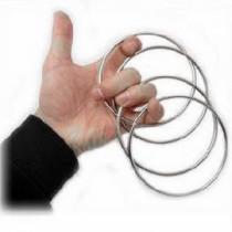 Metal Linking Rings 4 Rings Set (4 Inch/4.5 Inch)