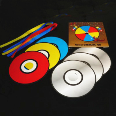 Color Changing and Vanishing CDs