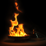 Auto Flame Electric Dove Pan (Double Load)