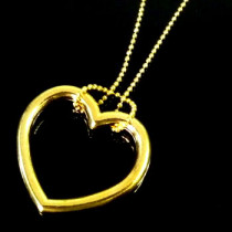 Ring & Chain - Heart Shaped (Gold/Silver)