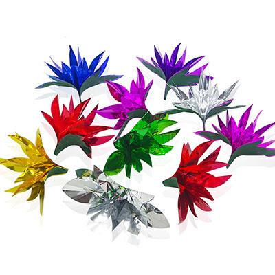 Flowers From Fingertips (Mylar)