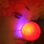 Light-up Flashing Clown Noses