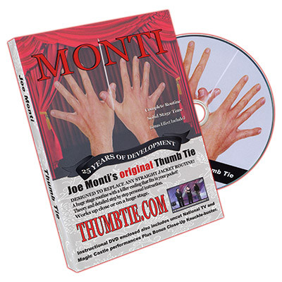 Joe Monti's Original Thumb Tie by Joe Monti - DVD