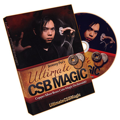 Ultimate CSB Magic by Jeremy Pei - DVD