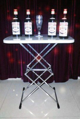 Tower Table (Stainless Steel)