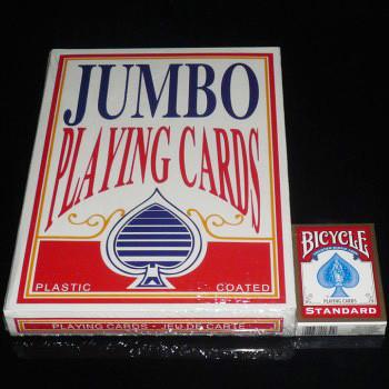 Jumbo Playing Cards (28.5cm x 21cm)