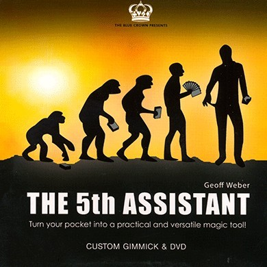 5th Assistant (Gimmick and DVD) by Geoff Weber and The Blue Crown
