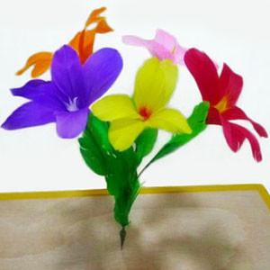 Blooming Flower Dart