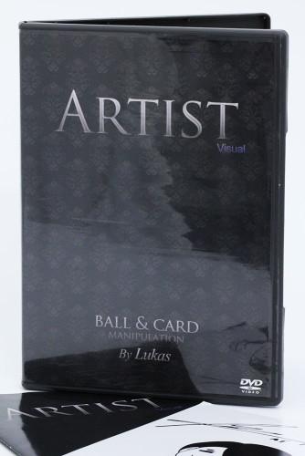 Artist Visual: Ball & Card Manipulation by Lukas (2 DVD Set)