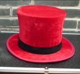 Folding Top Hat (Velvet, 4 Colors)