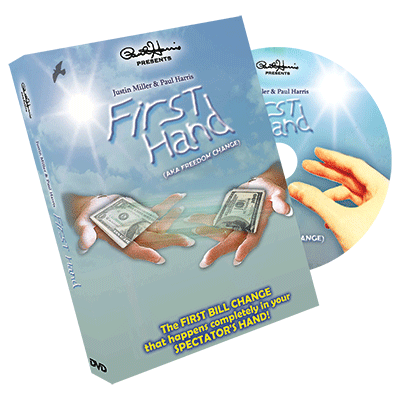 Paul Harris Presents First Hand (AKA Freedom Change) DVD and Gimmick