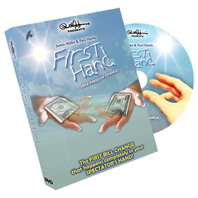 Paul Harris Presents First Hand (AKA Freedom Change) DVD and Gimmick