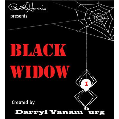 Paul Harris Presents Black Widow (With DVD) by Darryl Vanamburg - Trick