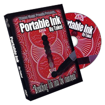 Portable Ink (DVD and Gimmick) by Takel and Titanas Magic