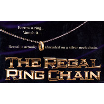 The Regal Ring Chain (DVD and Gimmick) by David Regal