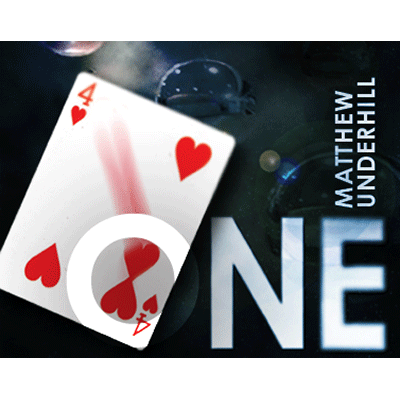 One (DVD and RED Gimmick) by Matthew Underhill