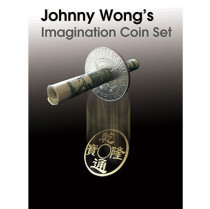 Johnny Wong's Imagination Coin Set (with DVD ) by Johnny Wong - Trick