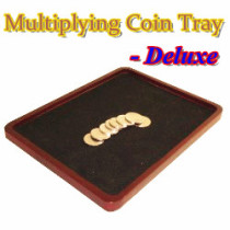Multiplying Coin Tray - Wood - Deluxe