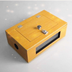 See Thru Tip-Over Box (Wooden)