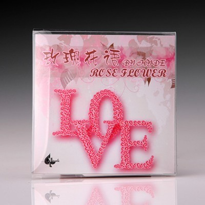 Rose Flower - The Card