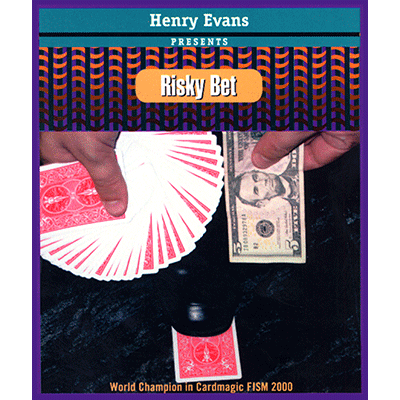 Risky Bet (US Currency, Gimmick and VCD) by Henry Evans