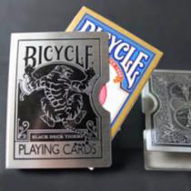 Tiger Bicycle Card Guard (Black/Silver)