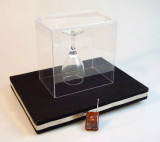 Coin in Glass and Glass Breaking Tray Combination Trick
