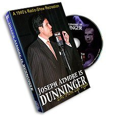 Joseph Atmore is Dunninger - Live From Las Vegas - DVD
