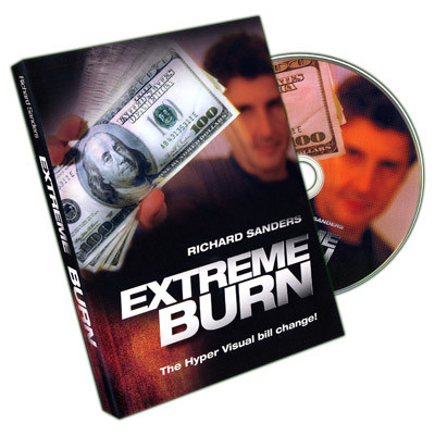 Extreme Burn by Richard Sanders DVD