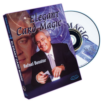 Elegant Card Magic by Rafael Benatar - DVD