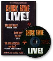 Chuck Fayne Live - DVD