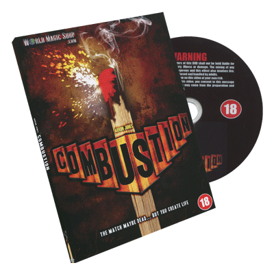 Combustion by Arron Jones and World Magic Shop - DVD