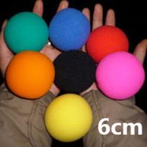 Super Soft Sponge Balls (6cm, Pack of 50)