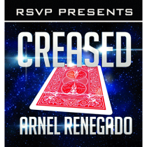 Creased (DVD and Gimmick) by Arnel Renegado and RSVP Magic