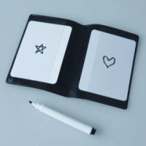 Star And Heart Card