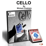 CELLO by Mickael Chatelain (DVD + Gimmick)