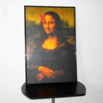 Mona Lisa 2 Magic Puzzle