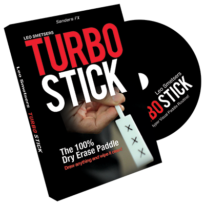 Turbo Stick by Richard Sanders (DVD + Gimmicks)