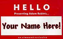 * Your Name Here
