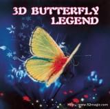 3D Butterfly Legend