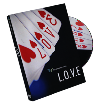 L.O.V.E (DVD and Gimmick) by SansMinds