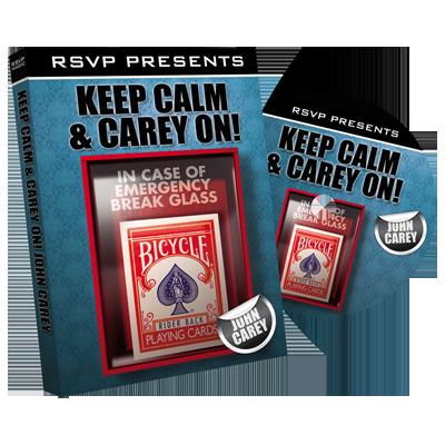 Keep Calm and Carry On with John Carey - DVD