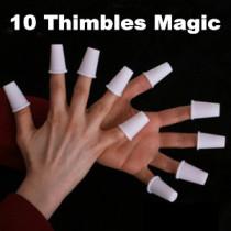 10 Thimbles Magic (5 Colors)