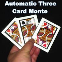 Automatic Three Card Monte - Poker Size (8.8x6.4cm)
