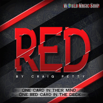 Red by Craig Petty (DVD + Gimmick)